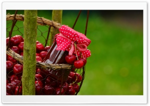Homemade Cherry Jam Ultra HD Wallpaper for 4K UHD Widescreen desktop, tablet & smartphone