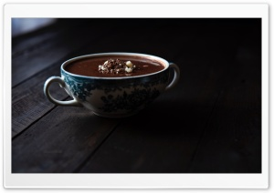 Homemade Hot Chocolate Ultra HD Wallpaper for 4K UHD Widescreen desktop, tablet & smartphone