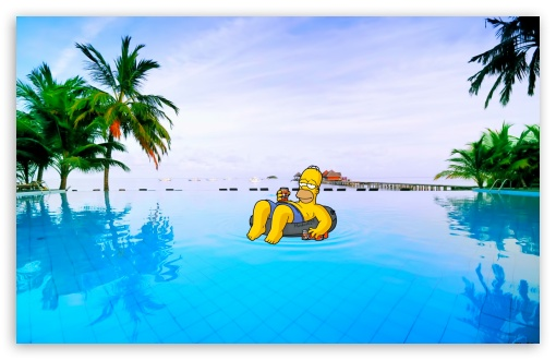 Homer Summer HD wallpaper for Wide 16:10 5:3 Widescreen WHXGA WQXGA WUXGA WXGA WGA ; HD 16:9 High Definition WQHD QWXGA 1080p 900p 720p QHD nHD ; Standard 4:3 5:4 3:2 Fullscreen UXGA XGA SVGA QSXGA SXGA DVGA HVGA HQVGA devices ( Apple PowerBook G4 iPhone 4 3G 3GS iPod Touch ) ; Tablet 1:1 ; iPad 1/2/Mini ; Mobile 4:3 5:3 3:2 16:9 5:4 - UXGA XGA SVGA WGA DVGA HVGA HQVGA devices ( Apple PowerBook G4 iPhone 4 3G 3GS iPod Touch ) WQHD QWXGA 1080p 900p 720p QHD nHD QSXGA SXGA ;
