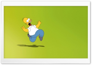 Homie Simpson HD Wide Wallpaper for Widescreen