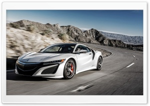 Honda Acura NSX Ultra HD Wallpaper for 4K UHD Widescreen desktop, tablet & smartphone