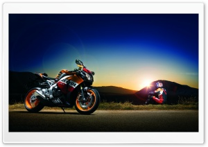 Honda CBR Motorcycle HD Wide Wallpaper for Widescreen