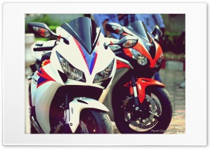 Honda CBR's HD Wide Wallpaper for Widescreen