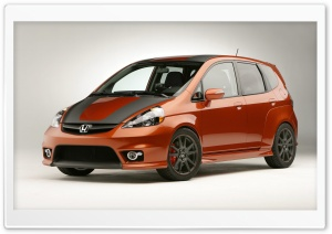 Honda Fit HD Wide Wallpaper for Widescreen