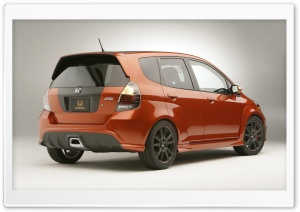 Honda Fit Car 1 HD Wide Wallpaper for Widescreen