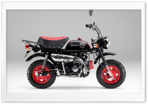 Honda Monkey Z50 Kumamon 2014 Bike Ultra HD Wallpaper for 4K UHD Widescreen desktop, tablet & smartphone