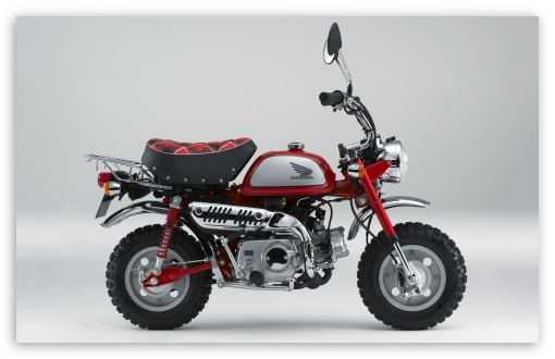 Download Honda Monkey Z50 Limited 2009 Bike HD Wallpaper