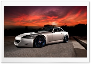 Honda S2000 Gray HD Wide Wallpaper for Widescreen