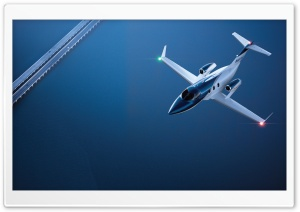 HondaJet In Flight HD Wide Wallpaper for Widescreen