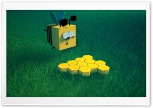 Honey Bee HD Wide Wallpaper for 4K UHD Widescreen desktop & smartphone