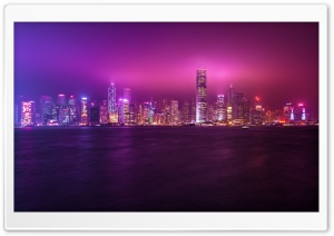 Hong Kong HD Wide Wallpaper for Widescreen