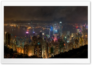 Hong Kong, China HD Wide Wallpaper for Widescreen