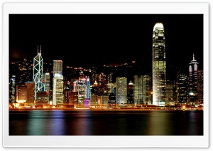 Hong Kong City HD Wide Wallpaper for Widescreen