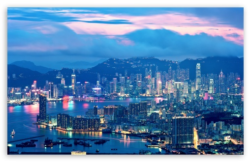 Hong Kong Night Lights HD wallpaper for Wide 16:10 5:3 Widescreen WHXGA WQXGA WUXGA WXGA WGA ; HD 16:9 High Definition WQHD QWXGA 1080p 900p 720p QHD nHD ; Standard 5:4 Fullscreen QSXGA SXGA ; Mobile 5:3 5:4 - WGA QSXGA SXGA ;