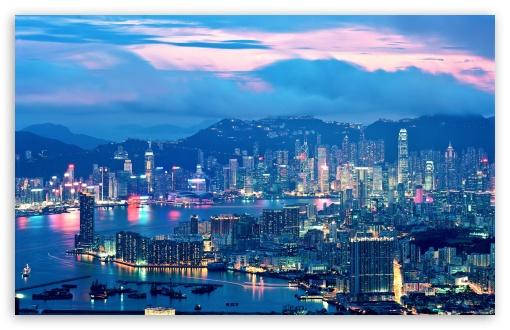 Hong Kong Night Lights UltraHD Wallpaper for Wide 16:10 5:3 Widescreen WHXGA WQXGA WUXGA WXGA WGA ; 8K UHD TV 16:9 Ultra High Definition 2160p 1440p 1080p 900p 720p ; Standard 5:4 Fullscreen QSXGA SXGA ; Mobile 5:3 5:4 - WGA QSXGA SXGA ;