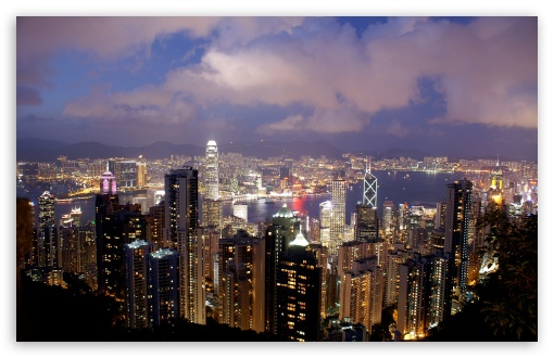 Hong Kong Night View HD wallpaper for Wide 16:10 5:3 Widescreen WHXGA WQXGA WUXGA WXGA WGA ; HD 16:9 High Definition WQHD QWXGA 1080p 900p 720p QHD nHD ; Mobile 5:3 16:9 - WGA WQHD QWXGA 1080p 900p 720p QHD nHD ;