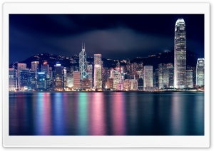 Hong Kong Skyscrapers HD Wide Wallpaper for Widescreen