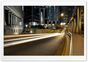 Hong Kong Street HD Wide Wallpaper for Widescreen