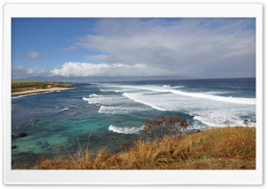 Ho'okipa Beach, Maui, Hawaii HD Wide Wallpaper for Widescreen