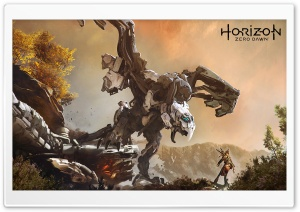 Horizon Zero Dawn HD Wide Wallpaper for Widescreen