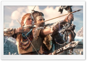 Horizon Zero Dawn Aloy Bow HD Wide Wallpaper for 4K UHD Widescreen desktop & smartphone