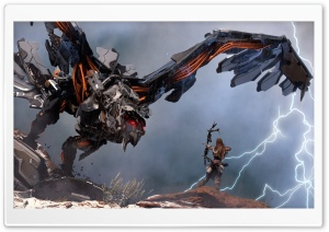 Horizon Zero Dawn Stormbringer HD Wide Wallpaper for 4K UHD Widescreen desktop & smartphone