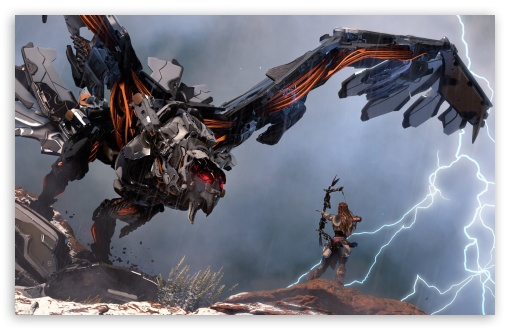 Download Horizon Zero Dawn Stormbringer UltraHD Wallpaper