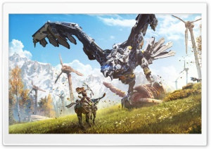 Horizon Zero Dawn Thunderhawk HD Wide Wallpaper for 4K UHD Widescreen desktop & smartphone