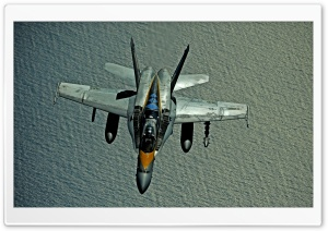 Hornet F182 HD Wide Wallpaper for Widescreen