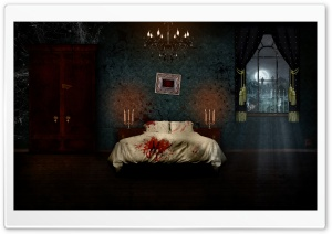 Horror Room HD Wide Wallpaper for 4K UHD Widescreen desktop & smartphone