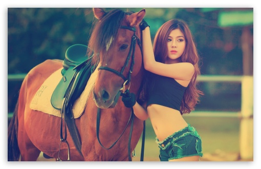 Horse and Girl HD wallpaper for Wide 16:10 5:3 Widescreen WHXGA WQXGA WUXGA WXGA WGA ; HD 16:9 High Definition WQHD QWXGA 1080p 900p 720p QHD nHD ; Standard 4:3 5:4 3:2 Fullscreen UXGA XGA SVGA QSXGA SXGA DVGA HVGA HQVGA devices ( Apple PowerBook G4 iPhone 4 3G 3GS iPod Touch ) ; iPad 1/2/Mini ; Mobile 4:3 5:3 3:2 16:9 5:4 - UXGA XGA SVGA WGA DVGA HVGA HQVGA devices ( Apple PowerBook G4 iPhone 4 3G 3GS iPod Touch ) WQHD QWXGA 1080p 900p 720p QHD nHD QSXGA SXGA ;