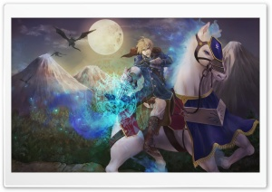 Horse Rider HD Wide Wallpaper for Widescreen