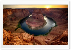 Horseshoe Bend, Arizona Ultra HD Wallpaper for 4K UHD Widescreen desktop, tablet & smartphone