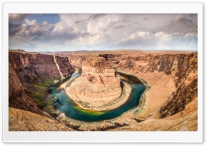 Horseshoe Bend, Arizona, United States HD Wide Wallpaper for Widescreen