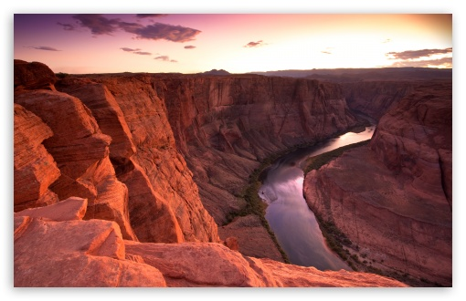Horseshoe Bend Sunset HD wallpaper for Wide 16:10 5:3 Widescreen WHXGA WQXGA WUXGA WXGA WGA ; HD 16:9 High Definition WQHD QWXGA 1080p 900p 720p QHD nHD ; UHD 16:9 WQHD QWXGA 1080p 900p 720p QHD nHD ; Standard 4:3 5:4 3:2 Fullscreen UXGA XGA SVGA QSXGA SXGA DVGA HVGA HQVGA devices ( Apple PowerBook G4 iPhone 4 3G 3GS iPod Touch ) ; Tablet 1:1 ; iPad 1/2/Mini ; Mobile 4:3 5:3 3:2 16:9 5:4 - UXGA XGA SVGA WGA DVGA HVGA HQVGA devices ( Apple PowerBook G4 iPhone 4 3G 3GS iPod Touch ) WQHD QWXGA 1080p 900p 720p QHD nHD QSXGA SXGA ;