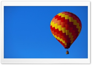 Hot Air Balloon HD Wide Wallpaper for Widescreen