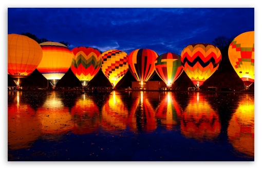 Hot Air Balloon Night Glow ❤ 4K UHD Wallpaper for Wide 16:10 5:3 Widescreen WHXGA WQXGA WUXGA WXGA WGA ; 4K UHD 16:9 Ultra High Definition 2160p 1440p 1080p 900p 720p ; Standard 3:2 Fullscreen DVGA HVGA HQVGA ( Apple PowerBook G4 iPhone 4 3G 3GS iPod Touch ) ; Mobile 5:3 3:2 16:9 - WGA DVGA HVGA HQVGA ( Apple PowerBook G4 iPhone 4 3G 3GS iPod Touch ) 2160p 1440p 1080p 900p 720p ;