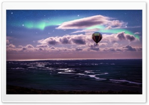 Hot Air Balloon Ride HD Wide Wallpaper for Widescreen