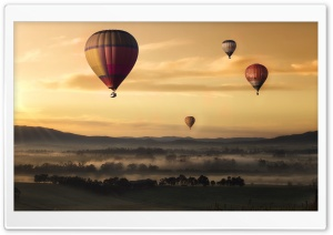 Hot Air Balloons HD Wide Wallpaper for 4K UHD Widescreen desktop & smartphone