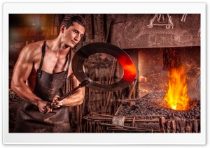 Hot Blacksmith HD Wide Wallpaper for 4K UHD Widescreen desktop & smartphone