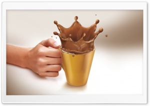 Hot Chocolate Mug HD Wide Wallpaper for Widescreen