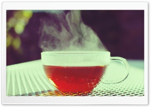 Hot Cup Of Tea HD Wide Wallpaper for Widescreen
