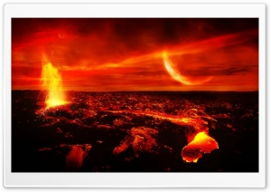 Hot Lava HD Wide Wallpaper for Widescreen