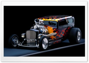 Hot Rod HD Wide Wallpaper for 4K UHD Widescreen desktop & smartphone
