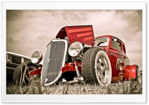 Hot Rod Car HD Wide Wallpaper for 4K UHD Widescreen desktop & smartphone