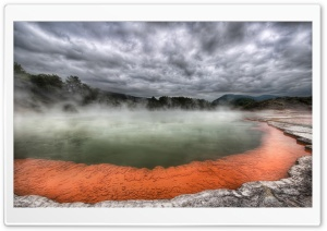 Hot Spring Nature HD Wide Wallpaper for 4K UHD Widescreen desktop & smartphone