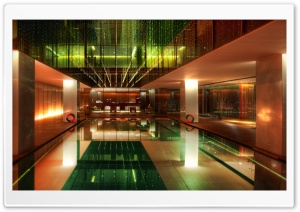 Hotel Lobby HD Wide Wallpaper for Widescreen