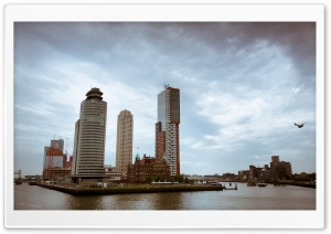 Hotel New York, Rotterdam, Netherlands HD Wide Wallpaper for 4K UHD Widescreen desktop & smartphone