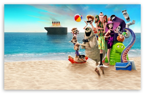 Download Hotel Transylvania 3 Summer Vacation 2018 HD Wallpaper