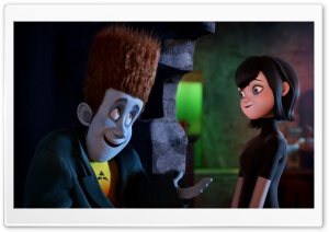 Hotel Transylvania   Johnnystein and Mavis HD Wide Wallpaper for Widescreen